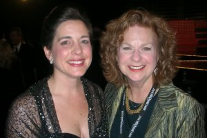 Heather Whitestone, Miss America 1995 and me at the Miss America Pageant