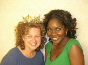 Me with Ericka Dunlap Miss America 2004 and her crown